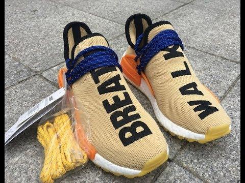 29ea753a2 Review Adidas X Pharrell Williams NMD Human Race Originals Trail Breath  Walk AC7361