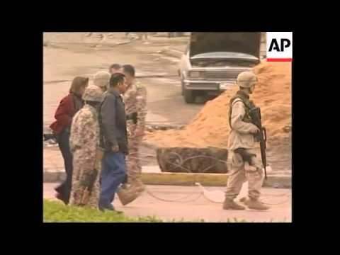 Roadside Bomb In Baghdad, Sniper Injures US Soldier
