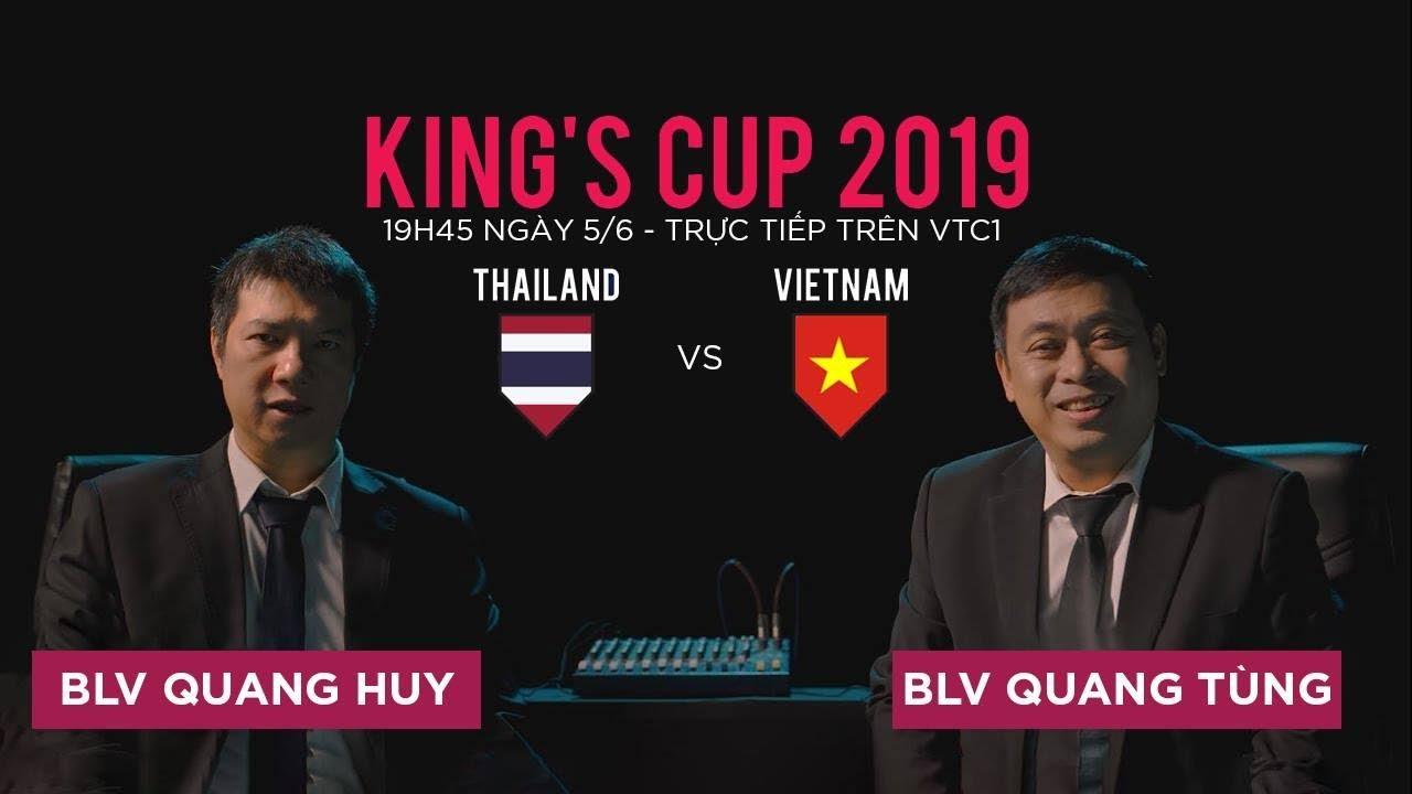 King's Cup 2019: Việt Nam vs Thái Lan | VTC Now