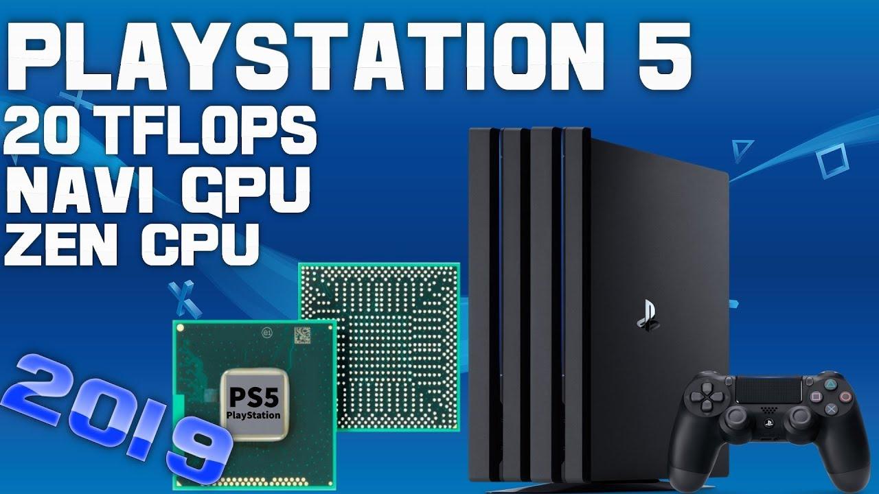NEW REPORT Leaks Impressive PS5 Specs! 20 TFLOP GPU, Zen CPU & More!