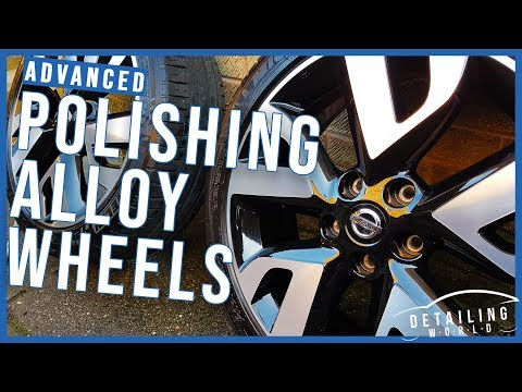How To Professionally Detail, Polish & Protect Your Painted Alloy Wheels