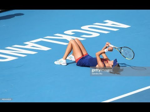 Venus Williams Vs Ana Ivanovic Auckland 2014 Highlights