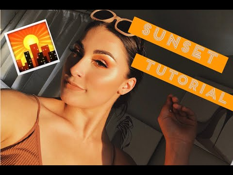 WEARABLE Tropical // Sunset Tutorial thumbnail