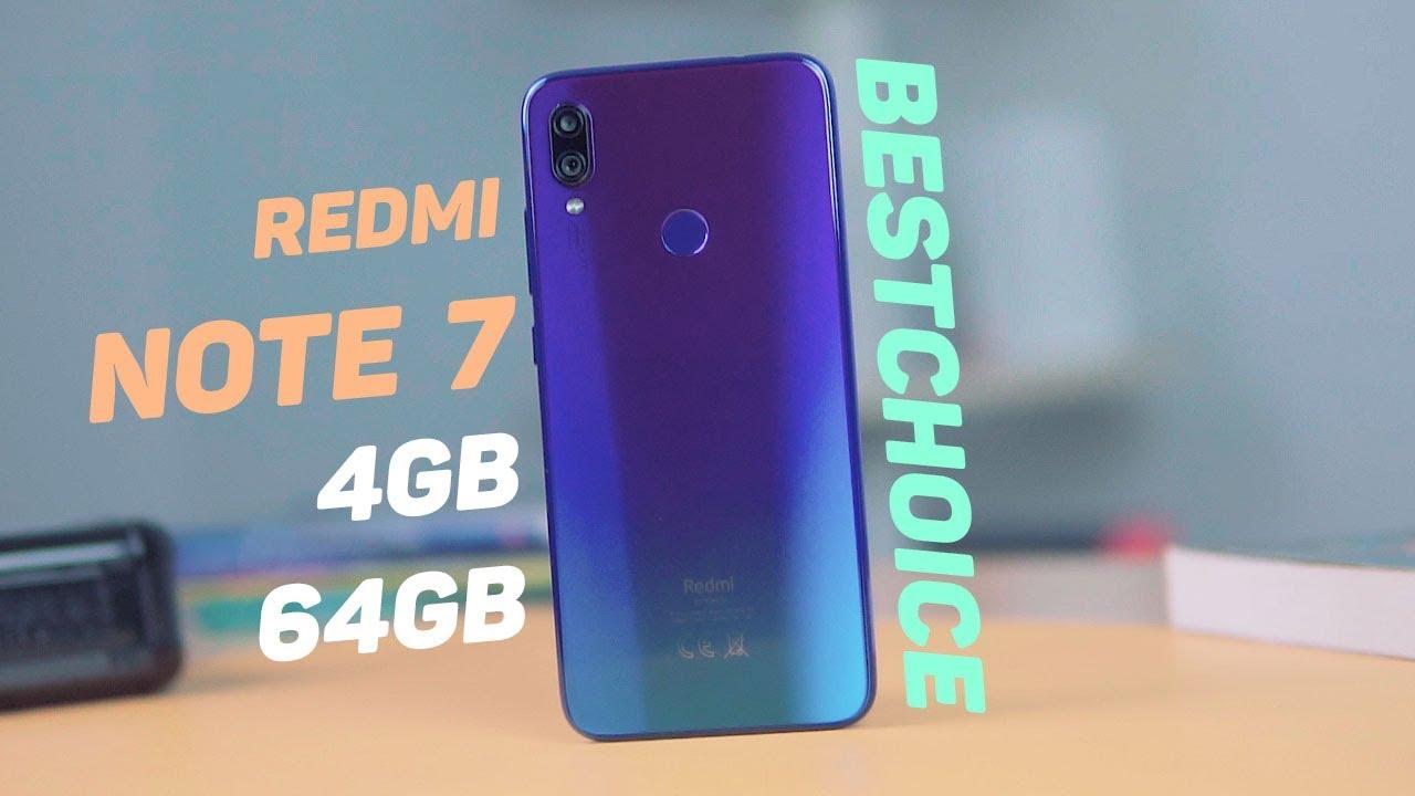 Bất ngờ với giá bán quá tốt của Redmi Note 7 4GB RAM!!!