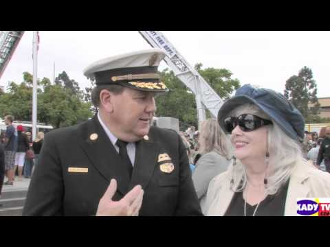Peggy Kelly Chats with Fire Chief Bob Roper