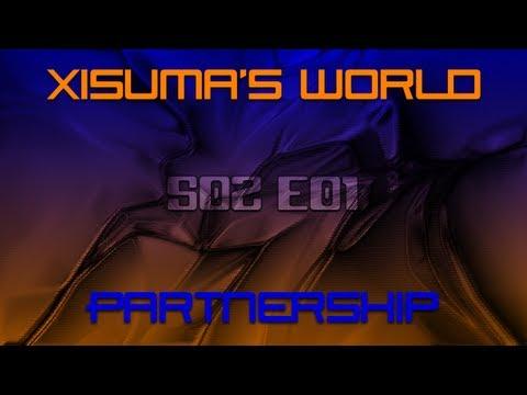 Xisuma's World S02 E01 Partnership