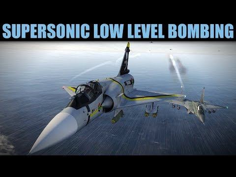 Cobalt Spear Campaign: Rather Scary Fast Low Level Bombing Mission | DCS