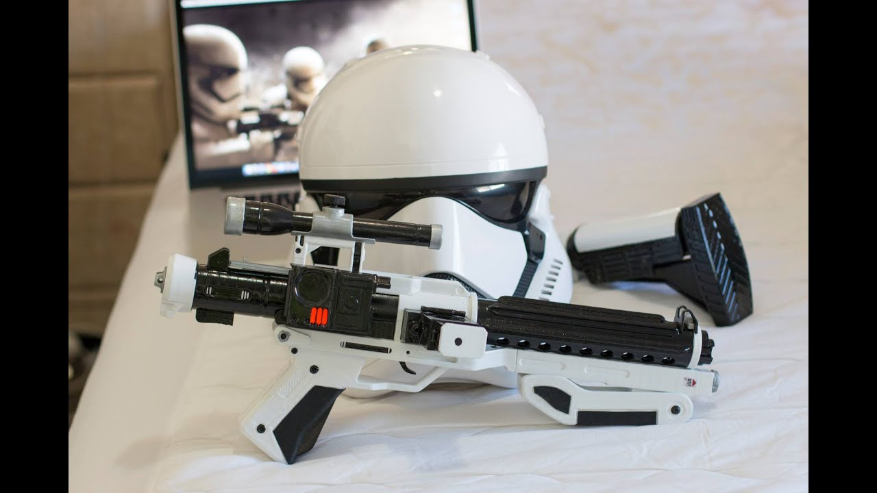how to build a stormtrooper blaster