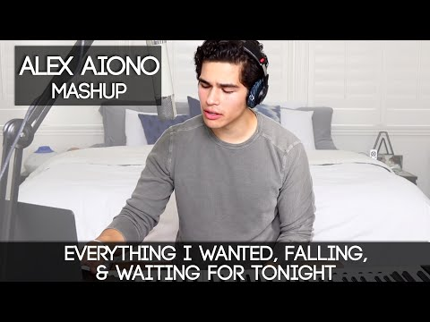Everything I Wanted Falling & Waiting for Tonight  Alex Aiono Mashup
