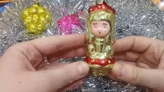 Новогодние ёлочные игрушки СССР. Моя коллекция.