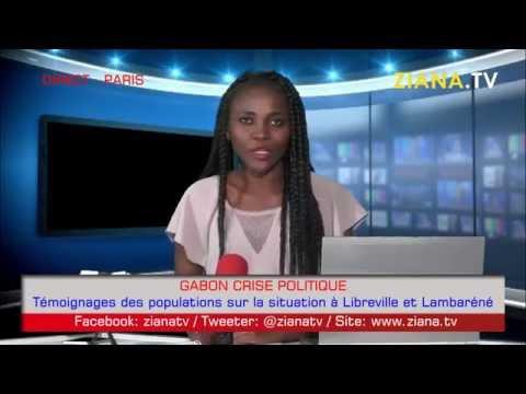 CRISE GABON. Témoignages des populations de Libreville et Lambarené