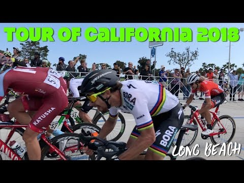 Tour Of California: Long Beach [Race, Vegan Falafels, & Peter Sagan]