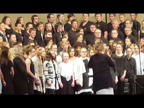 Kolby combined choirs 3/18