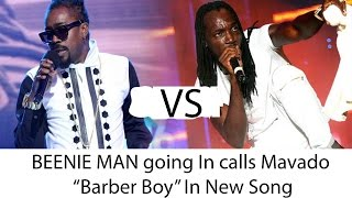 "BEENIE MAN going In calls Mavado ""Barber Boy"" & ""Rapper Groupie"""
