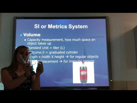Metric System Notes - Shaffer 2017