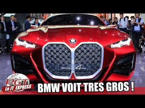 BMW Concept 4 : La Future M4 a un GROS Problème ? - PJT Express