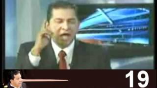 Lucio Gutiérrez en un detector de mentiras.