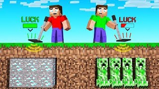 We Made METAL DETECTORS In MINECRAFT (diamonds)