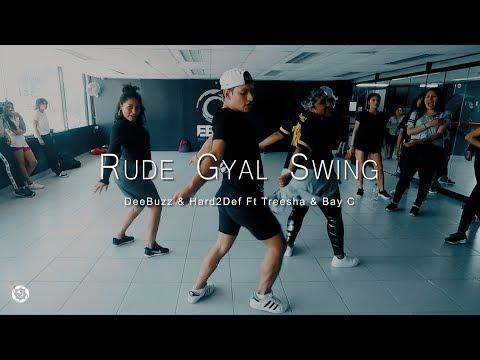 DeeBuzz & Hard2Def Ft Treesha & Bay C -  Rude Gyal Swing  / CHOREOGRAPHY BY Frank Mendoza