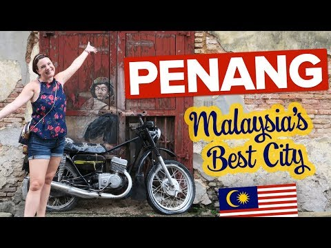 This Is Penang, Malaysia 🇲🇾 Not What We Expected 😲 Amazing Street Art + Colonial Tour