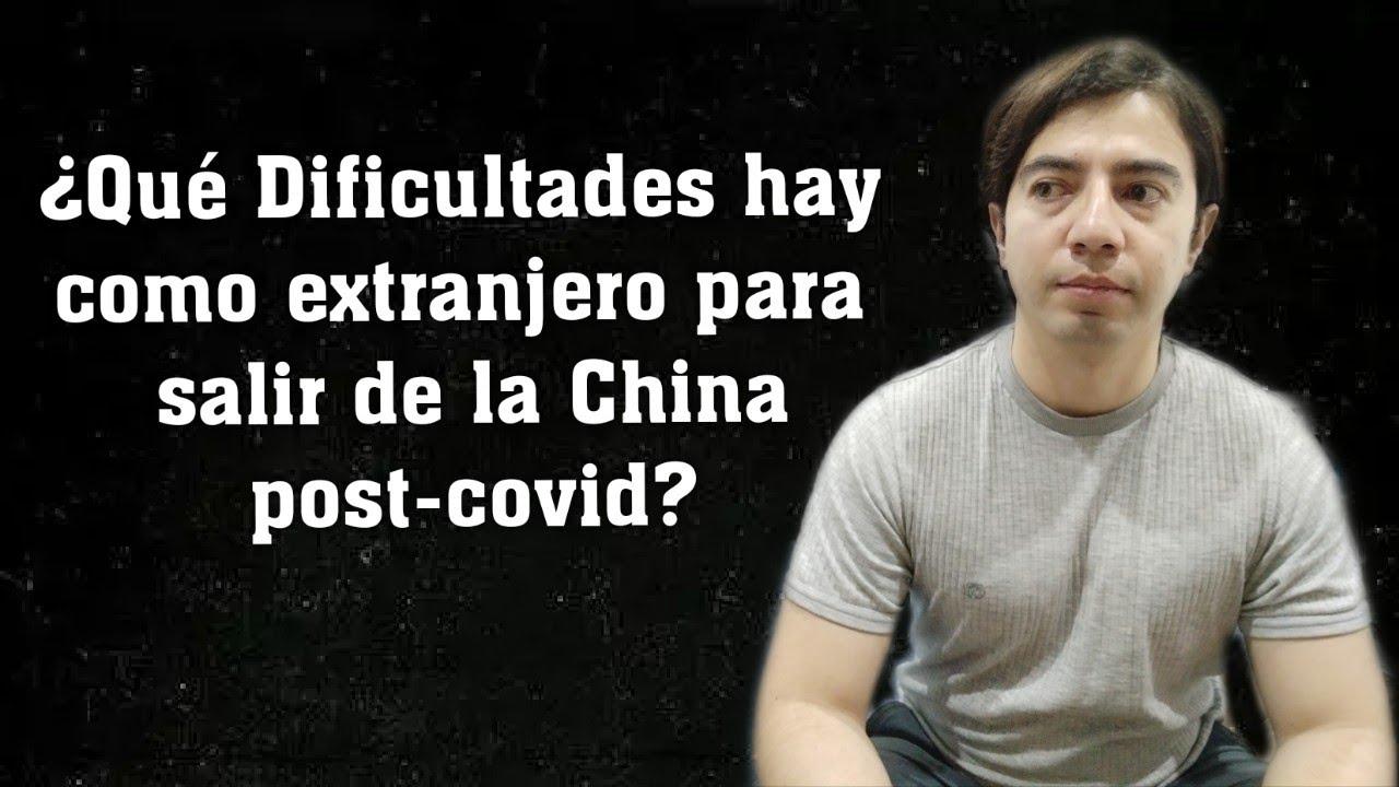 ¿POR QUÉ algunos no HEMOS SALIDO de CHINA?