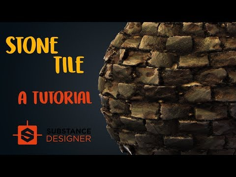 Creating a Stone Tile Material in Substance Designer | Beginner Tutorial