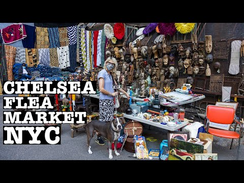 Chelsea FLEA MARKET: Best Thrifting in NYC