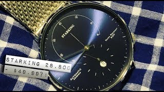 """StarKing Automatic Bauhaus """"Nomos"""" Watch Review - BEST Automatic Watch for $50!"""