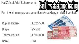 Bukti withdraw serta cara investasi dan trading di Indodax