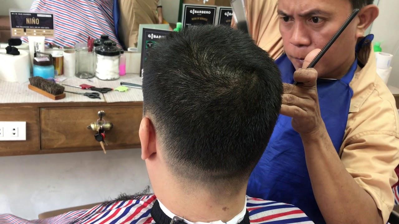 Japanese Style ASMR G Barbero Filipino Barber Complete Works | Shave | Haircut | Massage | Shampoo