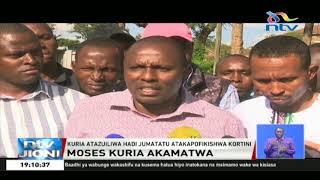Waandani wa Ruto wateta baada ya Moses Kuria kukamatwa