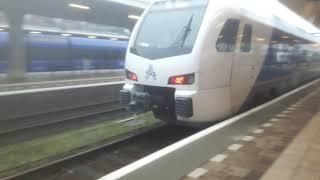 RE18 19824 naar Heerlen (NL) (Arriva-FLIRT) in Maastricht (NL).