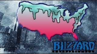 Background Noise (2) - Blizzard Leaves USA Out In The Cold