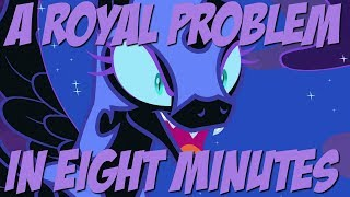 A Royal Problem in Eight Minutes