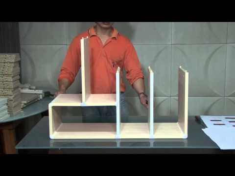 模組化櫥櫃裝置的連接桿結構-DIY操作說明