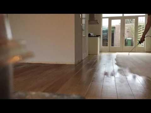 Behandeling eiken vloer roken caspar dekkers interieurs youtube