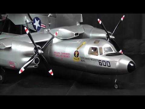 Maxford USA E-2 Hawkeye 1/14 ARF Instruction Video