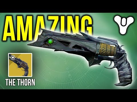 What happens when I use Thorn for the FIRST TIME EVER.... | Destiny 2 thumbnail