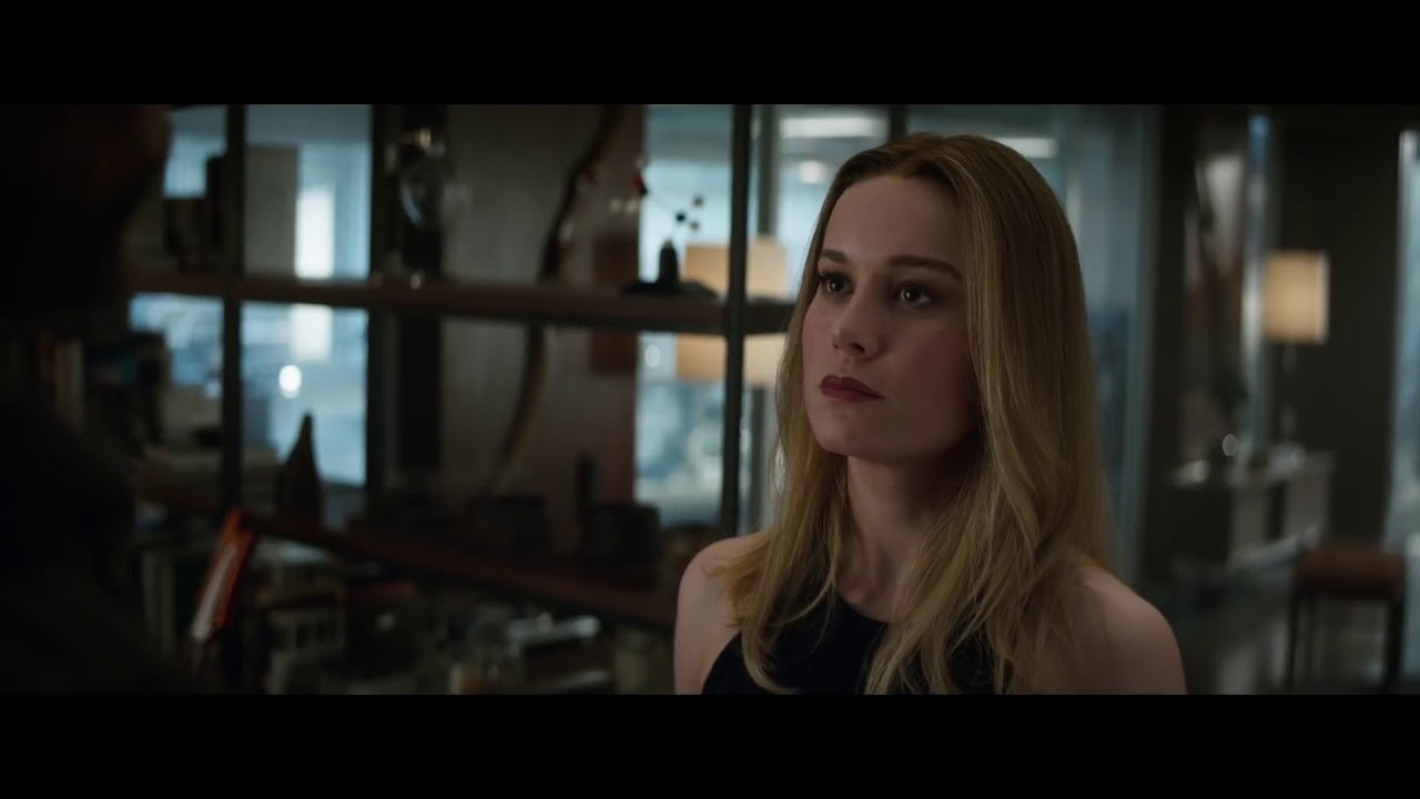 thor meets carol danvers/captain marvel scene (hd) - youtube