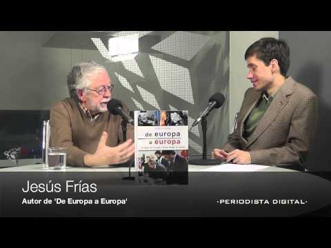 Jesús Frías, autor 'De Europa a Europa' (Historia de Europa Press). 20-12-2012