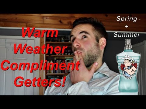 Top 7 Most Complimented Fragrances for the Warm Weather 2018!