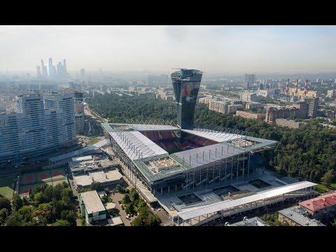 NEWSCOPTER - Стадион ЦСКА. 4К