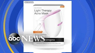 Neutrogena recalls popular acne mask