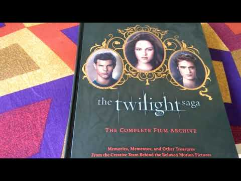 The Twilight Saga - The Complete Film Archive (unboxing and flip through)