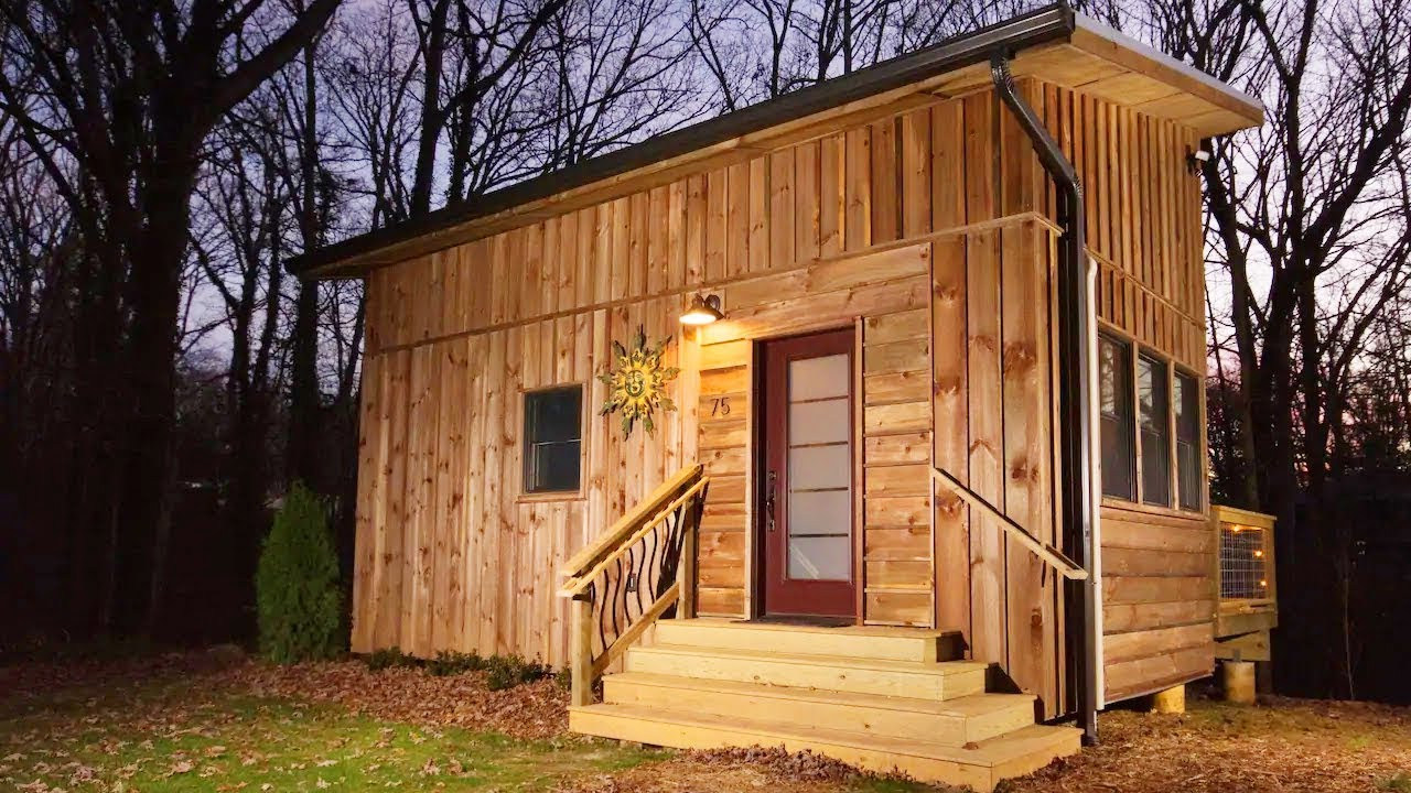 New Tiny House Near Downtown And Blue Ridge Living