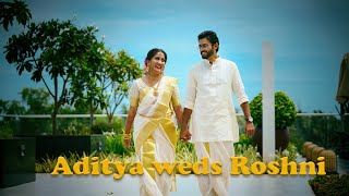 Haldi & Wedding highlights of Aditya & Roshni