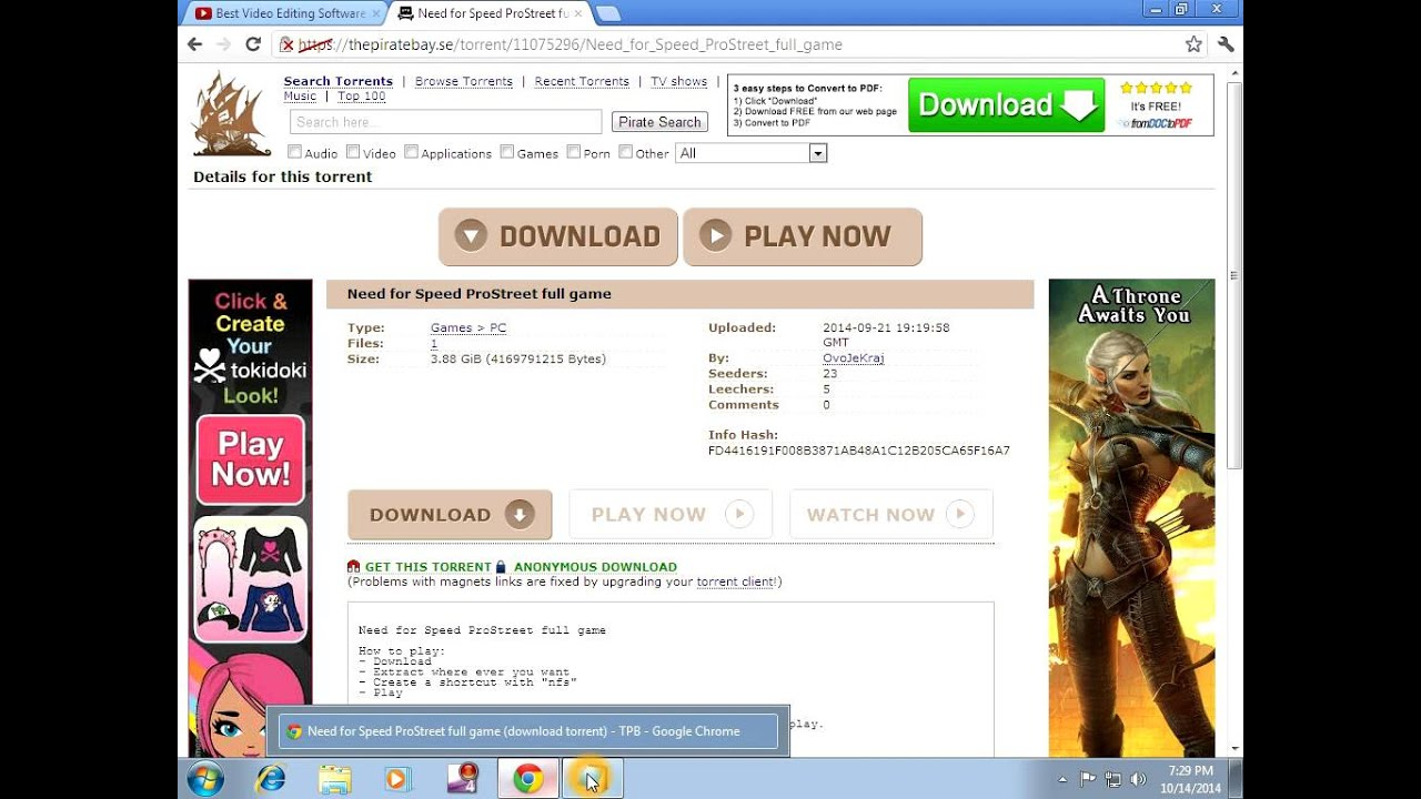 download latest torrent games online for free