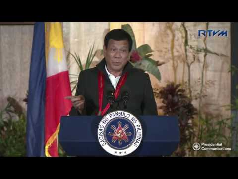 Dinner with Philippine Military Academy (PMA) Class '67 (Speech) 2/17/2017: Baguio Country Club, Baguio City February 17, 2017  Connect with RTVM  Website: http://rtvm.gov.ph Facebook: www.facebook.com/presidentialcom Twitter: @RTVMalacanang Google+: google.com/+RTVMalacanang Instagram: @RTVMalacanang