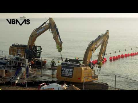 Galloper offshore wind farm | export cable shore landing *trailer