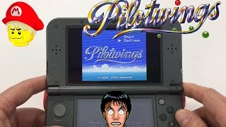 Playing SNES Pilotwings 3ds virtual Console Game Play🎮